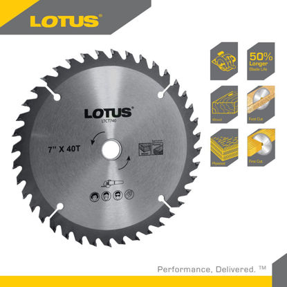 """Picture of Lotus TCT SAW BLADE 4"""" 40T (MULTI) LT4-40MMX"""