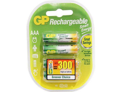 Picture of GP Batteries Smart Energy Rechargeable - AAA 4 pcs.