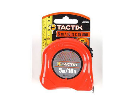 Picture of Tactix Basic Tape Measure - 5m (16ft.)