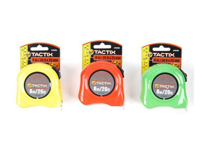 Picture of Tactix Basic Tape Measure - 8m  (26ft.)