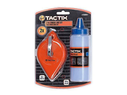 Picture of Tactix Chalk Line Set. 2 pcs.