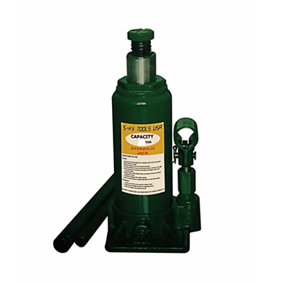 Picture of S-Ks Tools USA JM-1003SH 3 Tons Hydraulic Bottle Jack (Green)