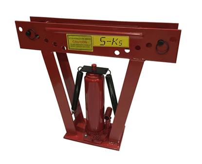 "Picture of S-Ks Tools USA JM-8012PB-3"" Heavy Duty 12Tons Hydraulic Pipe Bender (Black/Red)"