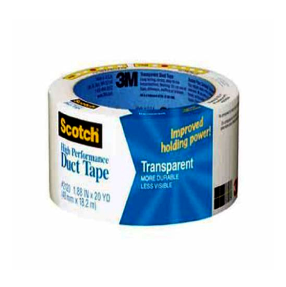 Picture of 3M Duct Tape Transparent 20YD