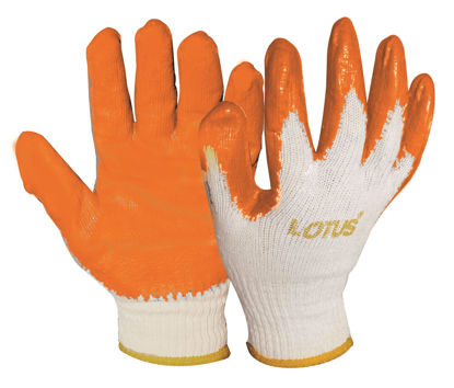 Picture of Lotus LSCG800 Rubber Gloves (Orange)