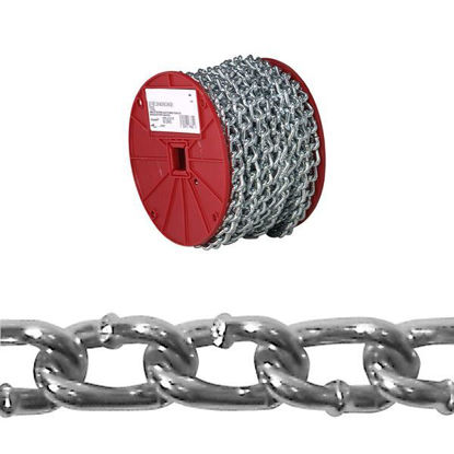 Picture of USA Campbell Twist Link Machine Chains - Blu-Krome Finish