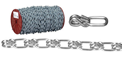 Picture of USA Campbell Lock Link - Single Loop Chain - Blu-Krome Finish