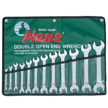 Picture of Hans 16512M Open Wrench Set