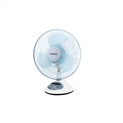 "Picture of Firefly 12"" Multi-angle Tilting 2-Speed Oscillating Fan with 4 LED Night Light FEL616"