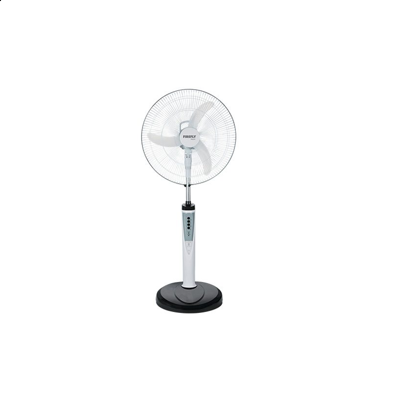 """Picture of Firefly 16"""" Oscillating 3-Speed Stand Fan with 6 LED Night Light & USB Mobile Phone Charger FEL631"""