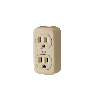 Picture of Firefly 2 Gang 2-Pin Convenience Outlet FEDOU203