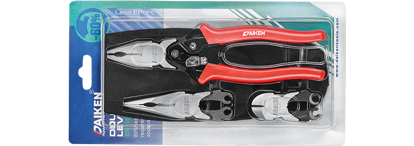 Picture of Daiken 3 In 1 Hi Leverage Interchangeable Head Plier Set DPS-03WQ