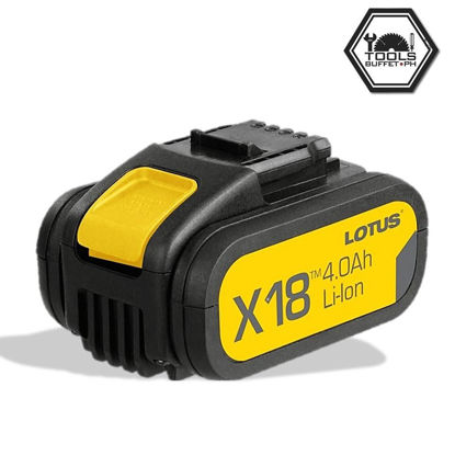 Picture of Lotus Battery 18V 4.0AH X-LINE LTBP18G-4