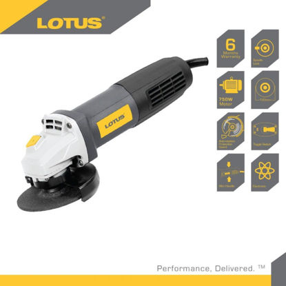 """Picture of Lotus Angle Grinder 4"""" Toggle  750W LTSG7500T"""