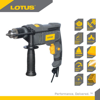 Picture of Lotus Impact Drill 16MM 800W LTHD16RE