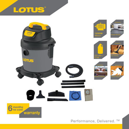 Picture of Lotus Vacuum Wet/Dry+Blower  3G LTPT600WDX
