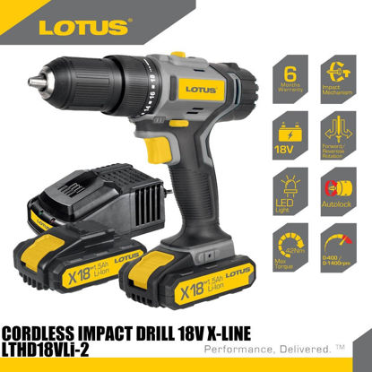Picture of Lotus Drill/Driver 12V X-LINE LTDD12VLi-2