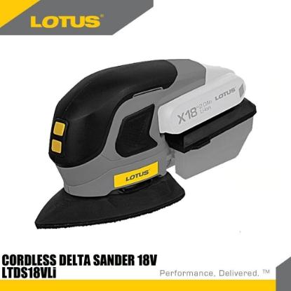 Picture of Lotus Delta Sander 18V X-LINE LTDS18VLI