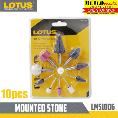 Picture of Lotus Mounted Stone 10PC LMS1006