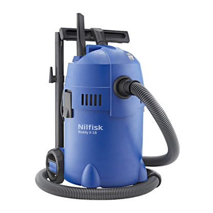 Picture of Buddy II 18 Litres Wet and Dry Vacuum Cleaner-NFBUDDYII18