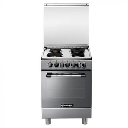 Picture of Tecnogas P3X66E04 60cm, 4 Electric Hotplates + Electric Multifunction Oven   Order Basis