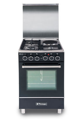 Picture of Tecnogas TFG5531CRVMBC 50cm Range, 3 Gas and 1 Electric Hot Plate