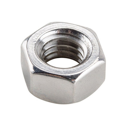 Picture of 304 Stainless Steel Hex Nut Inches Size