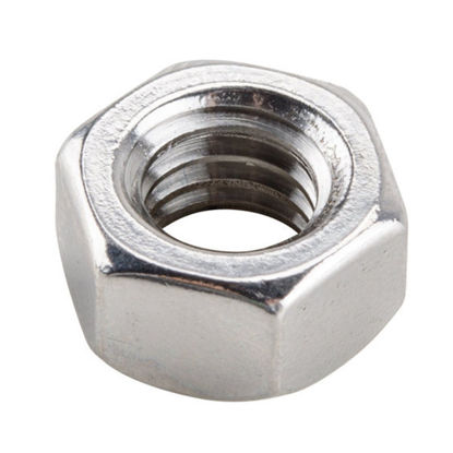 Picture of 316 Stainless Steel Hex Nuts, Inches Size