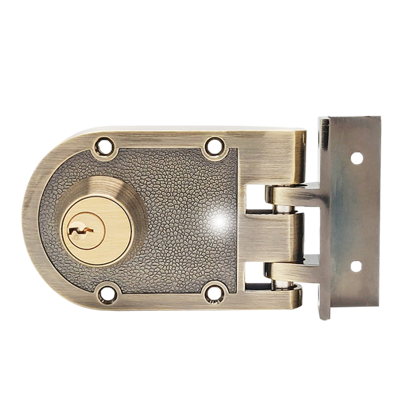 Picture of Rim Locks, Double Cylinder Deadlock V198 1/4