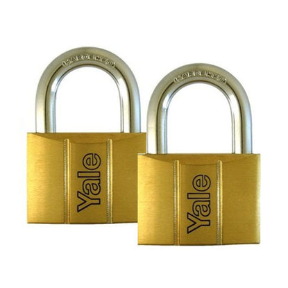 Picture of Brass Padlocks Key Alike 2 Pieces, Multi-Pack V140.40KA2