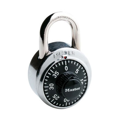 Picture of Master Lock Combination 48MM 19MM Hard Steel Shackle Padlock, MSP1500D