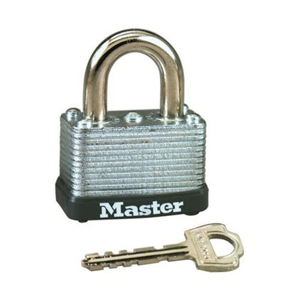 Picture of Master Lock 38MM 16MM Shackle Laminated Steel Padlock, MSP22D