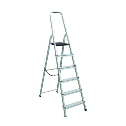Picture of Jinmao Aluminum 6 Steps 6 Ft. Height Ladder 150kg, JMAO113106
