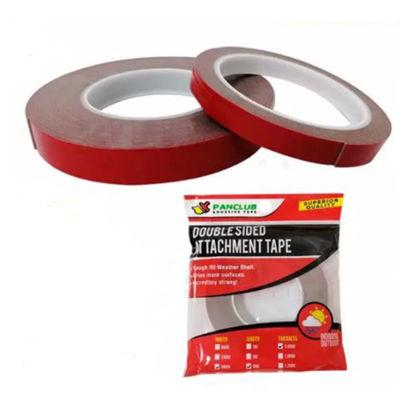 Picture of Panclub Double Sided Attachment Tape (6mm x 3Meters x 0.8mm, 12mm x 3Meters x 0.8mm, 18mm x 3Meters x 0.8mm, 6mm x 10Meters x 0.8mm, 12mm x 10Meters x 0.8mm, 18mm x 10Meters x 0.8mm), 80306