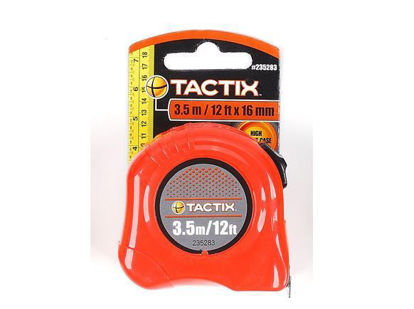 Picture of Tactix Basic Tape Measure - 3.5m( 12ft.)